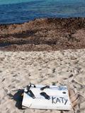 Les restes del surf de na Katy.